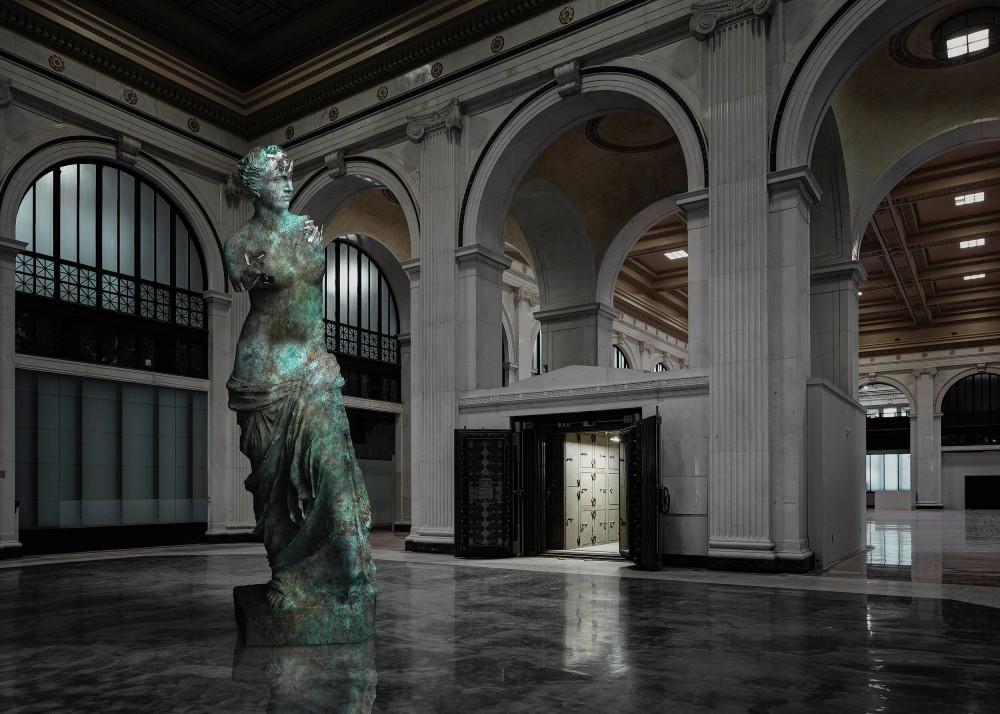 Bronze Eroded Venus de Milo