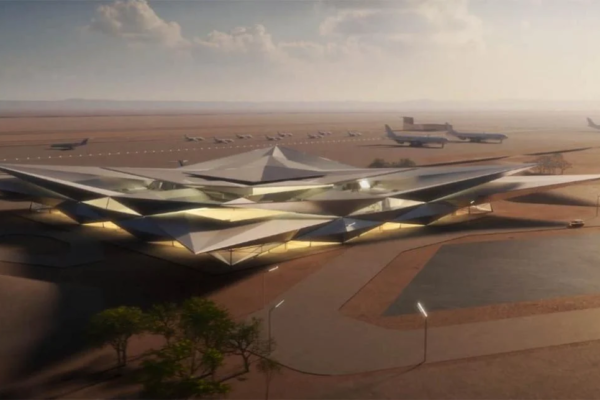 Saudi Arabia is making a massive airport for luxury travellers