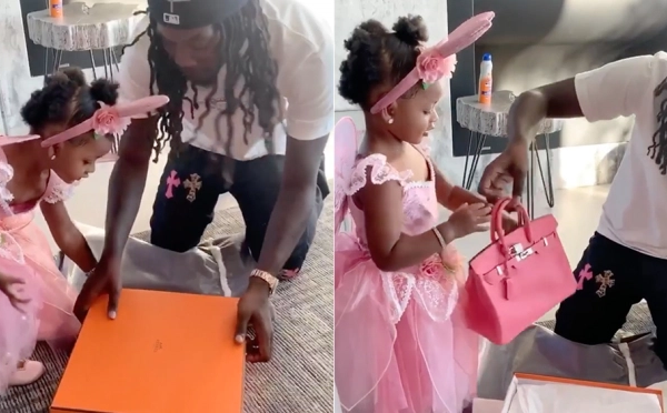 Offset and Cardi B Gave Their 2-Year-Old a New Hermes Birkin