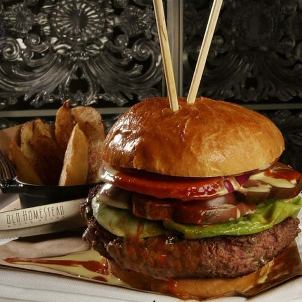 The Tri-Beef Burger – $125