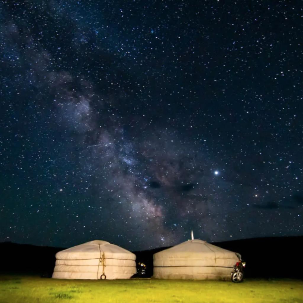 Yurt (Orkhon Valley, Mongolia)