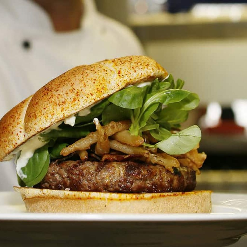 The Burger – $186