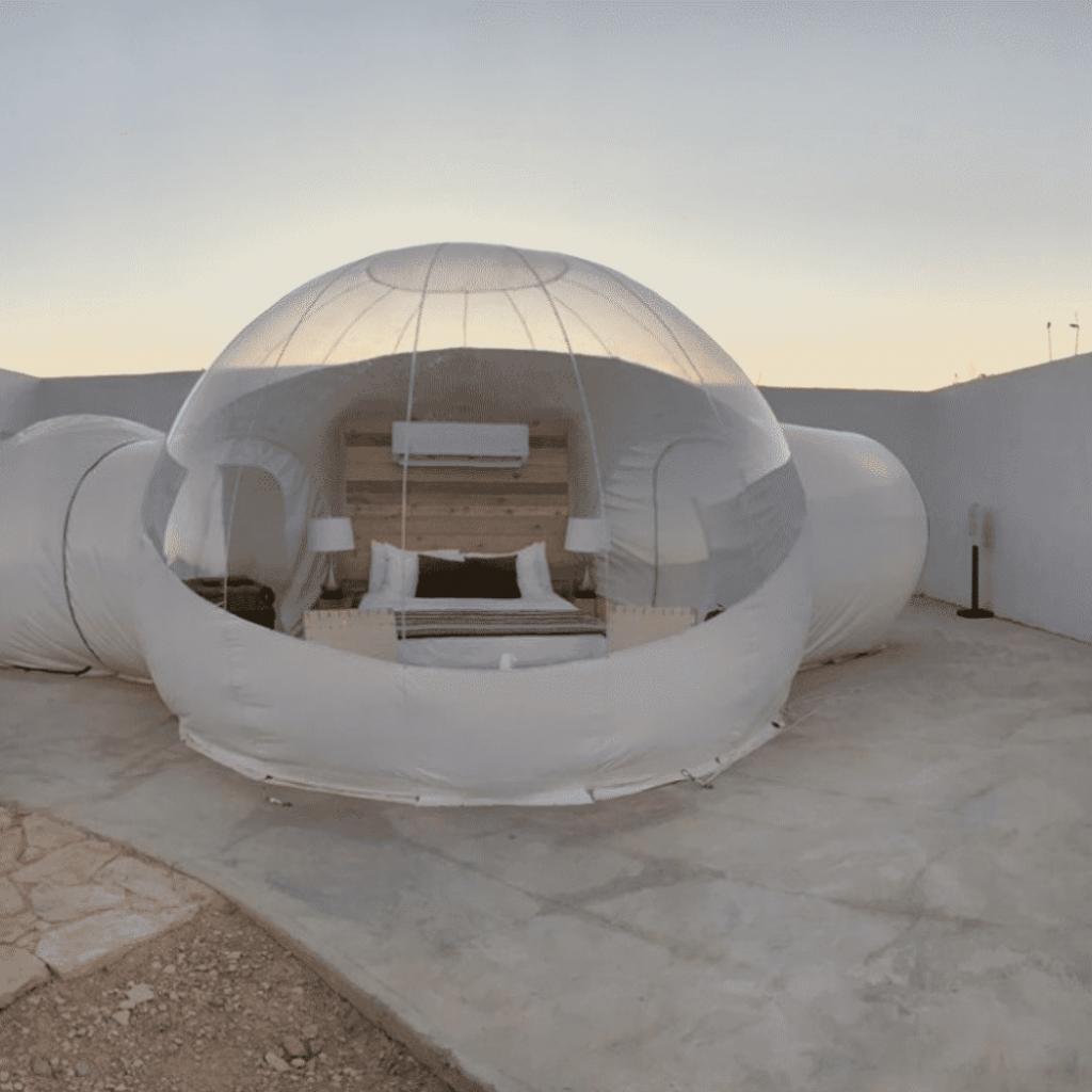 Basecamp Terlingua – Bubble
