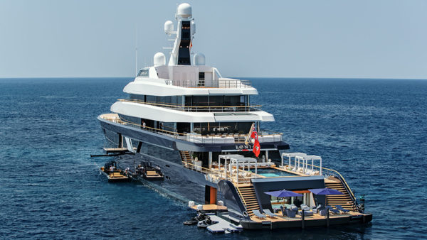 This 285-Foot Feadship Superyacht Has a Glass-Bottomed Pool