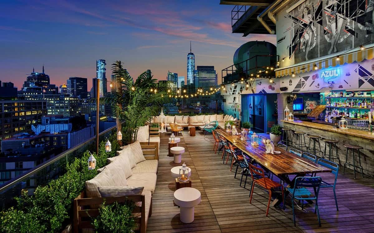 8. Azul on the Rooftop